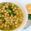 Soup with chickpea — Stock Photo #6587287