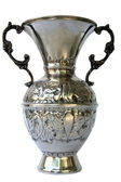 Silver vase — Stock Photo