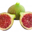 Royalty-Free Stock Photo: Fig and sections
