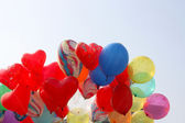 Group balloons — Stock Photo