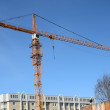 Hoisting-crane - Stock Photo