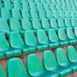 Seats in arena — Stock Photo