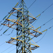 Energy: high voltage tower — Stock fotografie #5648738