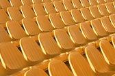 アリーナの競技場の椅子の座席 — ストック写真