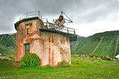 Old observatory in mountain of Central Asia — Stockfoto