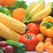 Colorful fresh group of vegetables and fruits — Stock Photo #6112295