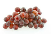 Red grape isolated — Stock Photo