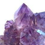 Amethyst gem stone — Stock Photo