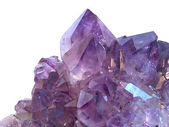 Amethyst gem stone — Stock Photo
