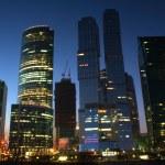 Night skyscraper — Stock Photo #6309978