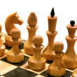 Chess on chessboard — Stock Photo #6310754
