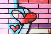 Graffitikonst — Stockfoto