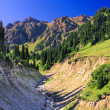 Stock Photo: Mountain landscape Trans-Ili Alatau