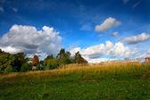 Landsbygdens landskap — Stockfoto