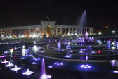 Fountain at night — Стоковое фото