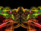 Smoke abstract backgrounds illustration — Stock Photo