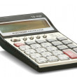 Isolated calculator - Stock Photo