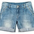 Jeans, shorts — Stock Photo
