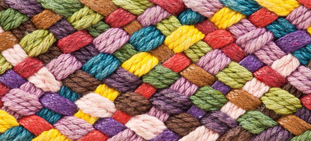 Фактура пряжи для вязания