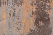 Metal surface with a shabby paint — Stock Photo