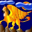 The Gold(en) griffon. - Stock Photo
