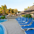Turkish resort, swimming pool. — Stock Photo #6268753