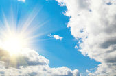 Splendid summer cloudscape. — Stock Photo
