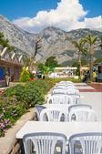 Krásný resort v turecku. — Stock fotografie