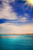 Seashore in the Hurghada town. — Stock Photo