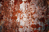 Surface of rusty steel sheet. — Stock Photo