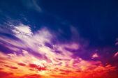 Amazing wonderful sky. — Stock Photo