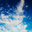 Amazing  blue sky. — Stock Photo