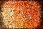 Surface of rusty steel sheet — Stock Photo