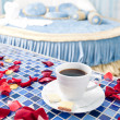 Beautiful Romantic Hotel Suite Interior — Stock Photo