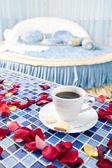 Beautiful Romantic Hotel Suite Interior — Stock Photo