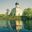 Church of Intercession upon Nerl River. — Stock Photo #5397980