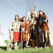 Stock Photo: Group of North AmericIndians