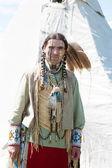 североамериканский индиец — Стоковое фото