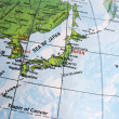 Map of Japan - Stock Photo