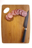 Salami Meat — Stock Photo