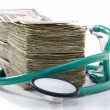 Medical Costs — Stockfoto