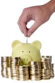 Poupar dinheiro — Fotografia Stock