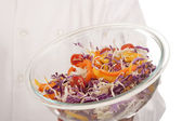 Salad in bowl — Foto Stock