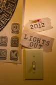 Lights Out — Stock Photo