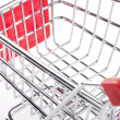 Empty shopping cart — 图库照片