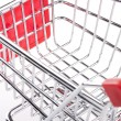 Empty shopping cart — Foto de Stock