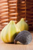 Ripe fruits of a fig — Stock Photo