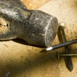 Hammer and Nails — Foto de Stock