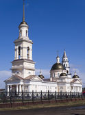 Catedral spaso-preobrazhenskiy. la ciudad de nevjansk. sverdlovs — Foto de Stock