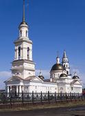 Spaso-preobrazhenskiy catedral. a cidade de nevjansk. sverdlovs — Foto Stock